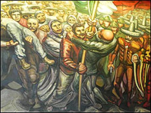 Revolucion Mexicana Mural Revolución Mexicana Entre